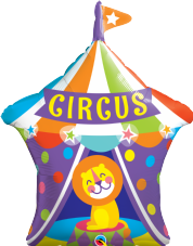 Circus Tent Super Shape Foil Balloon